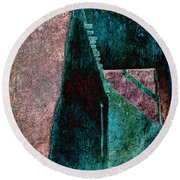 Copper Plate Round Beach Towel