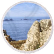 Cornwall - Land's End Round Beach Towel