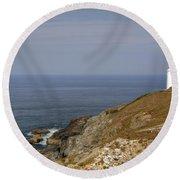 Cornwall - Trevose Head Round Beach Towel