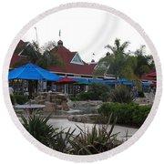 Coronado Ferry Landing Marketplace In Coronado California 5d24386 Round Beach Towel