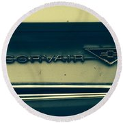 Corvair Round Beach Towel