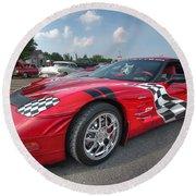 Corvette  Round Beach Towel