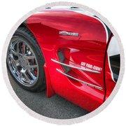 Corvette Z06 Round Beach Towel