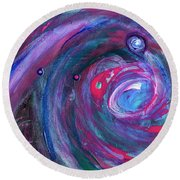 Cosmic Activity 15 Round Beach Towel