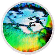 Cosmic Series 012 Round Beach Towel