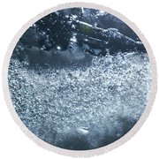 Cosmos 011 By Jammer Round Beach Towel