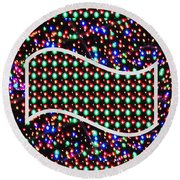 Cosmos Riot Of Colorful Stars And The Sky Materials  Remember Our Planet Look The Same From That Dis Round Beach Towel