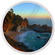 Costal Paradise Round Beach Towel