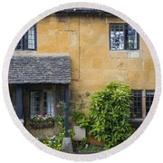 Cotswolds Cottage Round Beach Towel