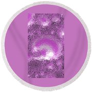 Cotton Candy Round Beach Towel