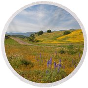 Cottonwood Canyon Round Beach Towel