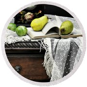 Counter Productive Round Beach Towel