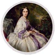 Countess Alexander Nikolaevitch Lamsdorff. Maria Ivanovna Beck Round Beach Towel