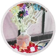 Country Comfort - Photopower 457 Round Beach Towel