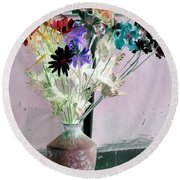 Country Comfort - Photopower 464 Round Beach Towel