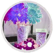 Country Comfort - Photopower 497 Round Beach Towel