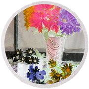 Country Comfort - Photopower 504 Round Beach Towel