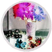 Country Comfort - Photopower 505 Round Beach Towel