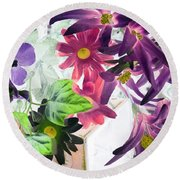 Country Comfort - Photopower 521 Round Beach Towel