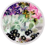 Country Comfort - Photopower 528 Round Beach Towel