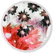 Country Comfort - Photopower 531 Round Beach Towel