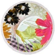 Country Comfort - Photopower 533 Round Beach Towel