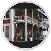 Country Store 2 Round Beach Towel