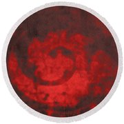 Courage And Clarity Round Beach Towel
