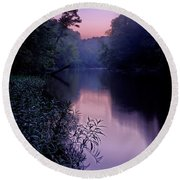 Coutois Creek Round Beach Towel