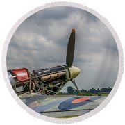 Covers Off Hawker Hurricane Round Beach Towel