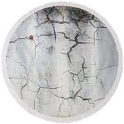 Crackle 1 Round Beach Towel