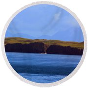 Craggy Coast 2 Round Beach Towel
