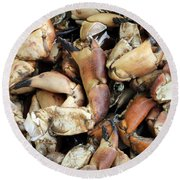 Crayfish Round Beach Towel