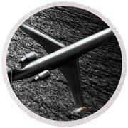 Crj700 - Bombardier Round Beach Towel