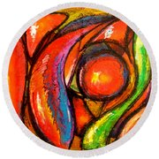 Cromo Round Beach Towel