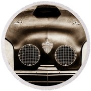 Crosley Front End Grille Emblem Round Beach Towel