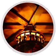 Crows Nest At Ship Tavern In The Brown Palace Hotel Round Beach Towel