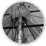 Crows Nest Round Beach Towel