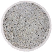 Crushed Shell Sidewalk Round Beach Towel