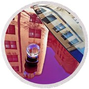 Crystal Ball Project 60 Round Beach Towel