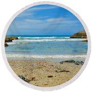 Crystal Waters - Port Macquarie Beach Round Beach Towel