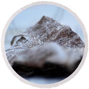 Crystalized Round Beach Towel