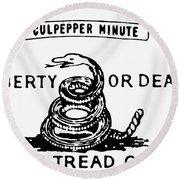 Culpepper Minutemen Round Beach Towel