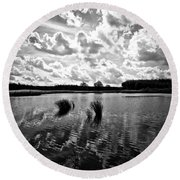 Cultivated Nature Round Beach Towel