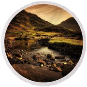 Cumbria Round Beach Towel