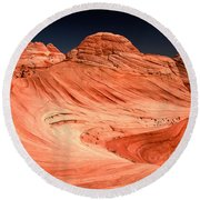 Cupcakes And Canyons Round Beach Towel