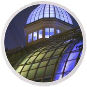 Cupola At Night Round Beach Towel