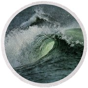 Curl Of The Wave Round Beach Towel