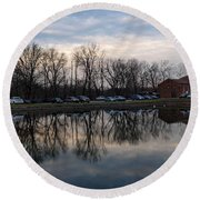 Cushwa Basin C And O Canal Round Beach Towel