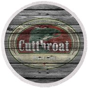 Cutthroat Pale Ale Round Beach Towel